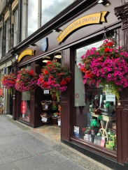 Edinburgh shops on the Royal Mile