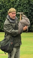 Falconer at Dunrobin